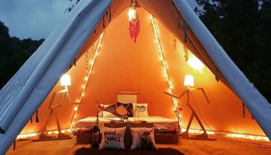 Luxurious Glamping near Pawana Lake | Trekfit Adventures | Camping